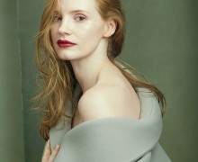 Fire Starters Jessica Chastain shot by Annie Leibovitz Vogue August 2014