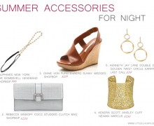 Summer Accessories for night by little luxury list